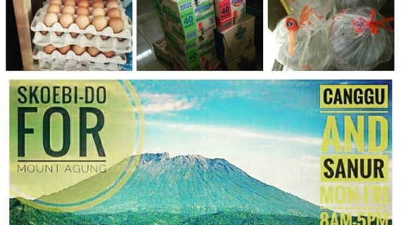 Skoebi-do Bali Donations for Mt. Agung refugees Part II NEWS