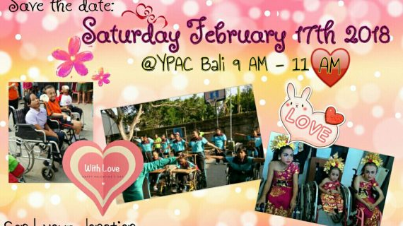 Skoebi-do Child Care Centre Bali Valentine's with YPAC Bali