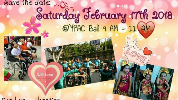 Skoebi-do Child Care Centre Bali Valentine's with YPAC Bali