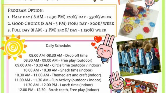 Skoebi-do Child Care Centre Sanur Summer Holiday Program