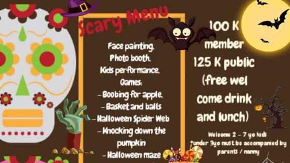 Skoebi-do Child Care Centre Bali Halloween Party 2018