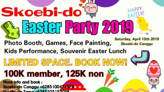 Skoebi-do Child Care Centre Bali Easter Party 2019