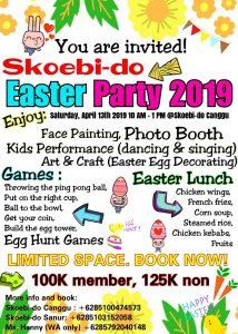 Skoebi-do Easter Party 2019