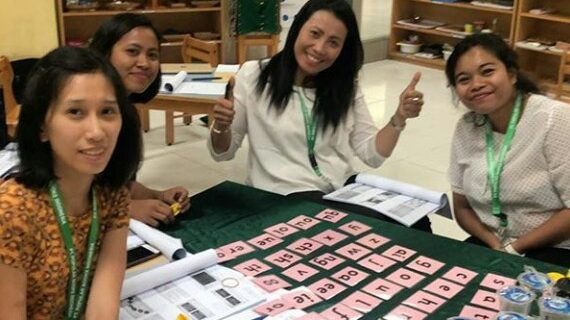 Skoebi-do Child Care Centre Attending Jolly Phonics Workshop in Jakarta