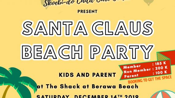Skoebi-do Santa Claus Beach Party 2019